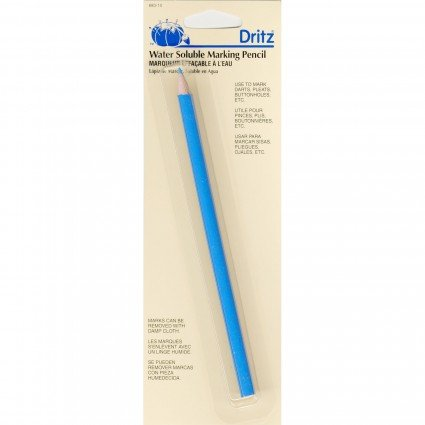 Dritz Water Soluble Pencil-Blue