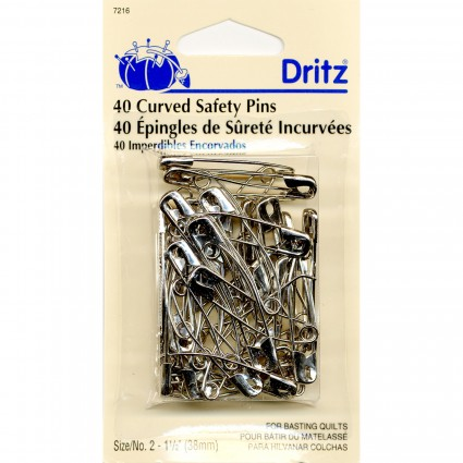 Dritz Curved Safety Pins #7216
