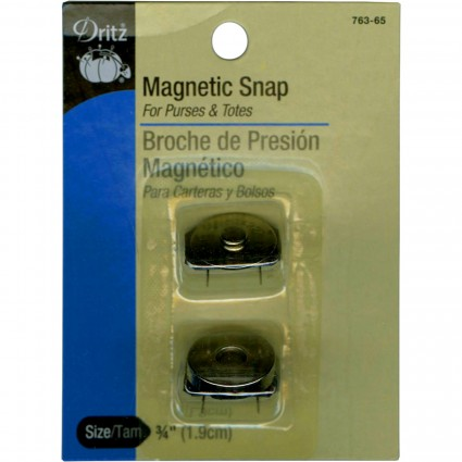 3/4' Magnetic snap, Silver