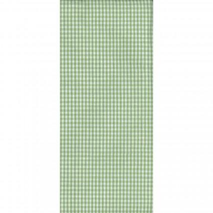 Tea Towel Mini Check Lt Green