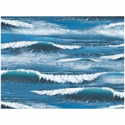 Landscape Medley blue waves 297