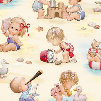 Beach Kids-Cream