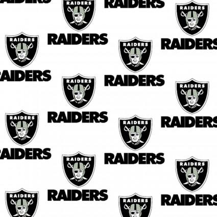 NFL Las Vegas Raiders 1029-W Cotton 58-60 Wide