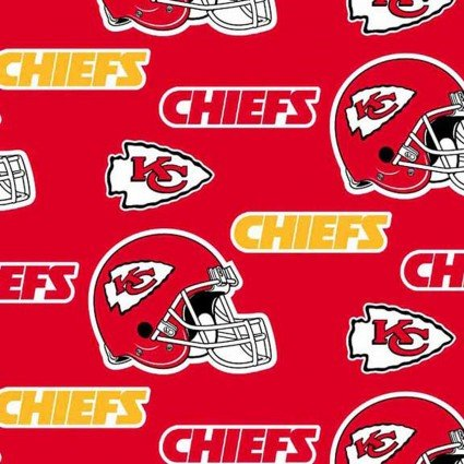 Fabric Traditions-NFL-Kansas City Chiefs  6315-D