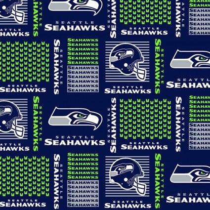 NFL - Seattle Seahawks (Grid pattern)58/60