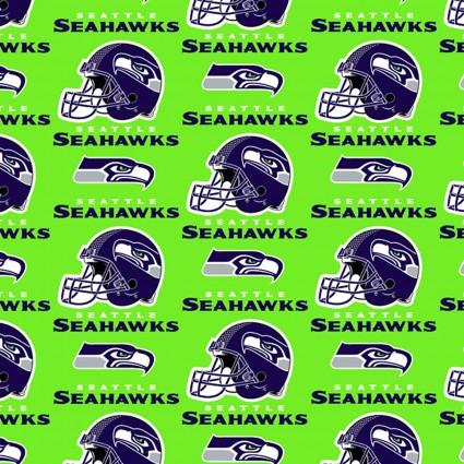 Seattle Seahawks NFL Cotton 6716-D
