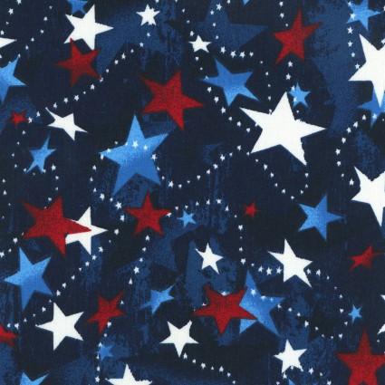 Tossed Stars Yardage