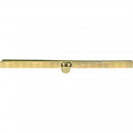 GALAXY 7-1/2 Ladies Night Wallet Clasp SMOOTH BRONZE