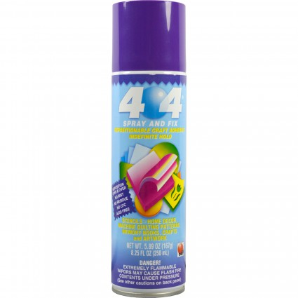 404 Permanent Repositionable Adhesive