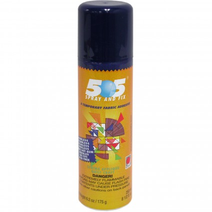 505 Spray & Fix, Temporary Fabric Adhesive