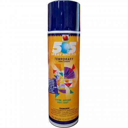 505 Spray & Fix, Temporary Fabric Adhesive
