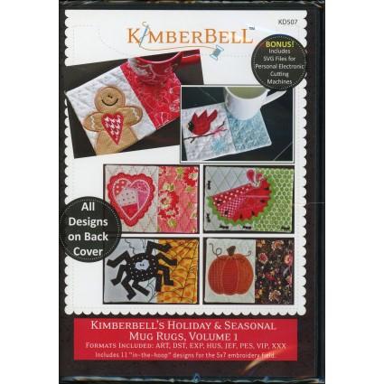 KIMBERBELL HOLIDAY & SEASONAL MUG RUGS VOL. 1