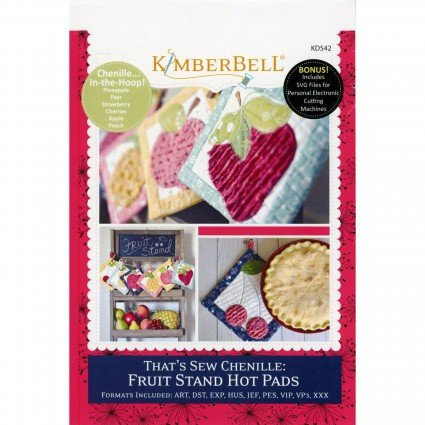 That's Sew Chenille: Fruit Stand Hot Pads