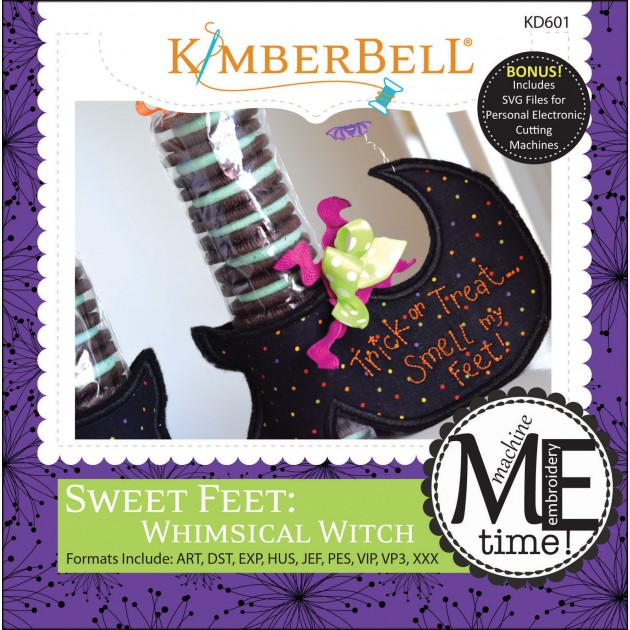 Sweet Feet: Whimsical Witch