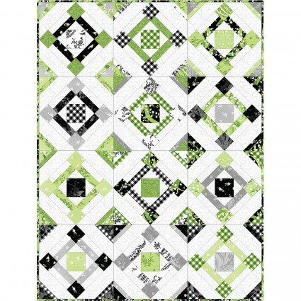 Greenery - Fair & Square - 54 x 68 - Hunter Design Studio