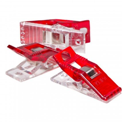 Quilters Perfect Klip Red 25ct