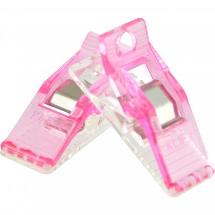 Quilters Perfect Klip Pink 25ct