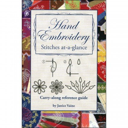Hand embroidery stitches at-a-glance - book