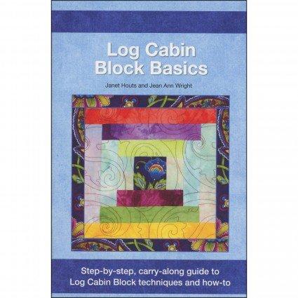 Log cabin block basics - book
