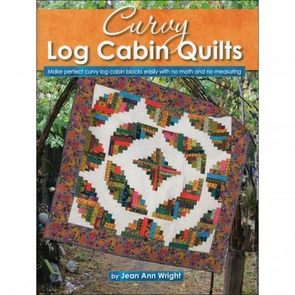 Curvy Log Cabin by Jean Ann Wright