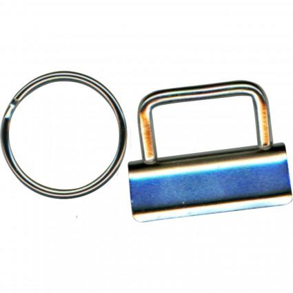Nickel Key Fob 4-pack