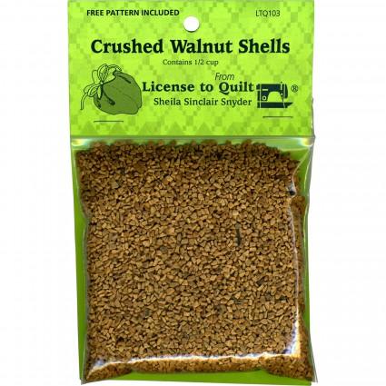 Crushed Walnut Shells