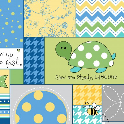 Maywood Little One Flannel Animal/Words MASF8221-ZB
