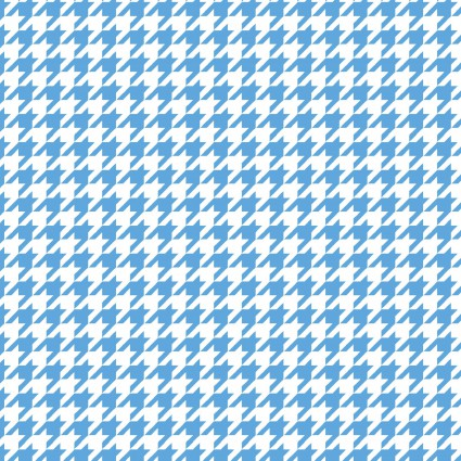 *Little One Flannel Too!  Herringbone blue/white