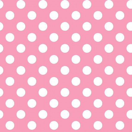 Lil' Sprout Too Flannel - Pink dot