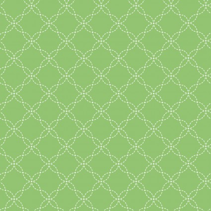 *Lil' Sprout Flannel Too! green  lattice