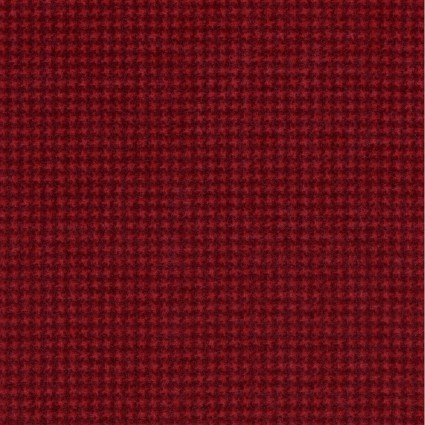 Woolies Flannel - Weave - Dark Red