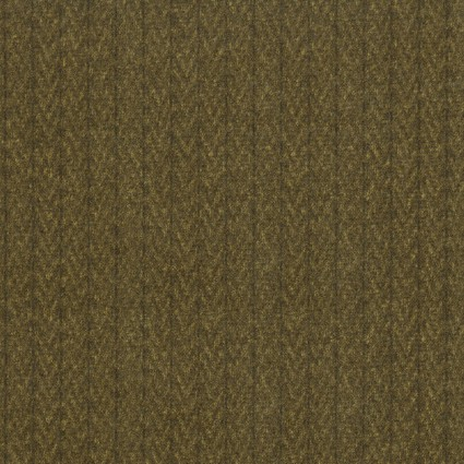 Brown Stitched Herringbone Flannel