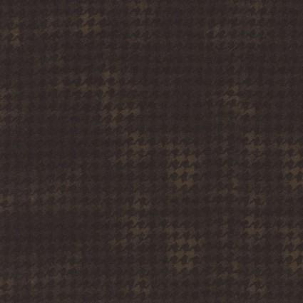 Woolies Flannel - Black Brown