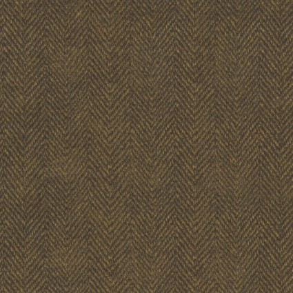 Woolies Flannel - Herringbone - Brown - Maywood Studio