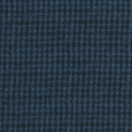 Woolies Flannel Small Blue Plaid