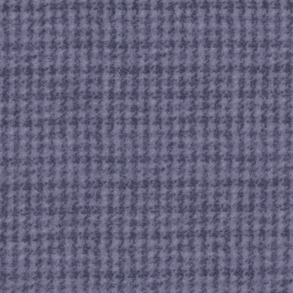 Woolies Flannel - Houndstooth - Violet - Maywood Studio