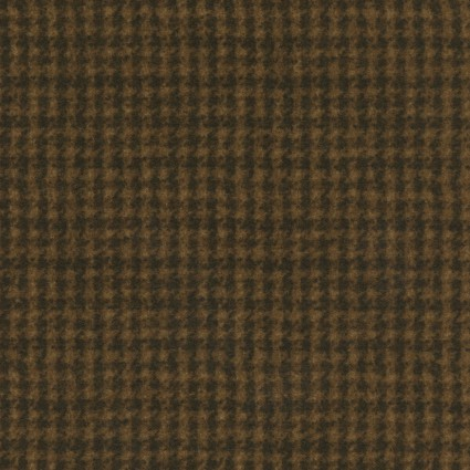 Maywood Studio - Woolies Flannel-Brown Houndstooth