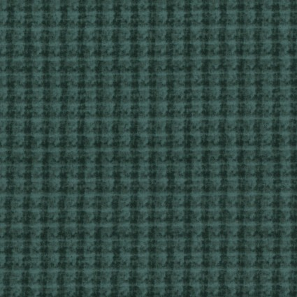 Woolies Flannel Blue Green Double Weave