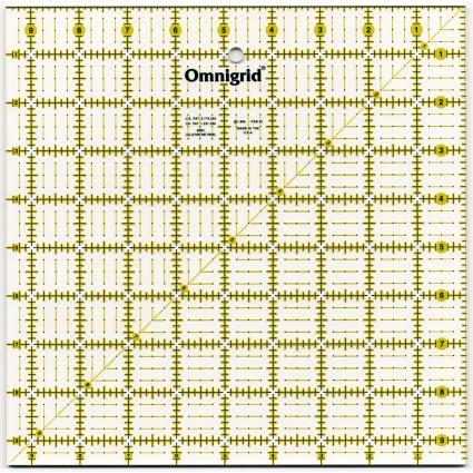 9.5 x 9.5 Omnigrid Ruler