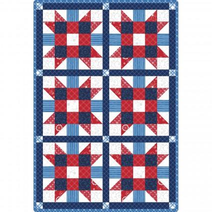 Sister's Choice 6 Block Quilt Pod KimberBell Basics 32 x 47