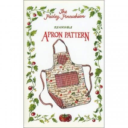 The Paisley Pincushion Reversible Apron Pattern