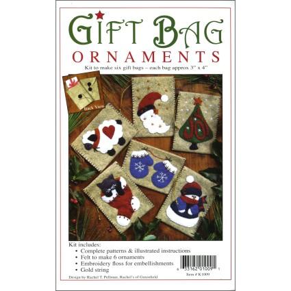 Gift Bag Ornament Kit 1009