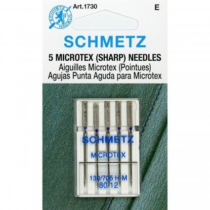 Schmetz Microtex Needles 80/12