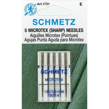 Schmetz Microtex Sharp Needles 90/14