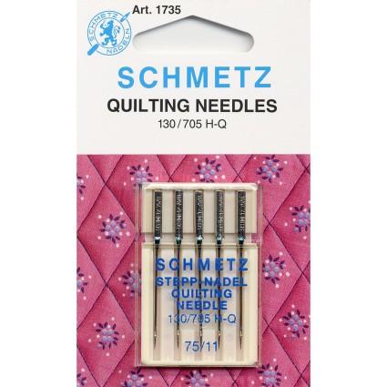 Schmetz Quilting Needles 11/75 5ct