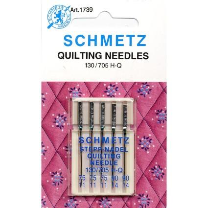 Schmetz Quilting Machine Needles Size 130/705 5 Pack
