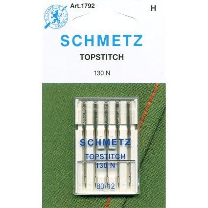 12/80 Schmetz Topstitch Needles