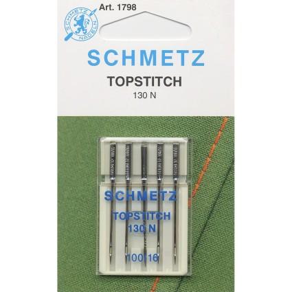 Schmetz Topstitch Needles 16/100 5ct