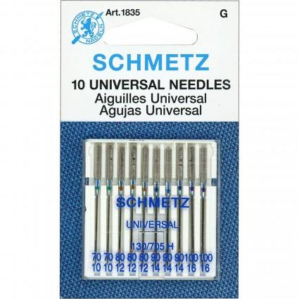 Schmetz Universal Needles 130/705 10 Pack