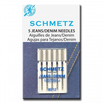 Schmetz Denim Needles 5ct